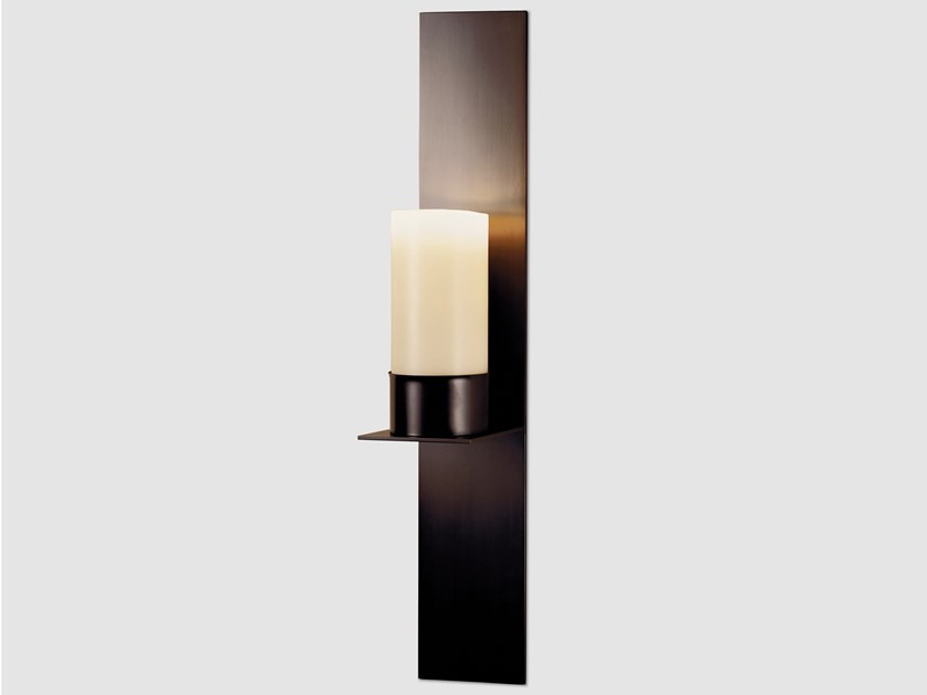 Indirect light steel wall light TIMMEREN by Kevin Reilly Collection