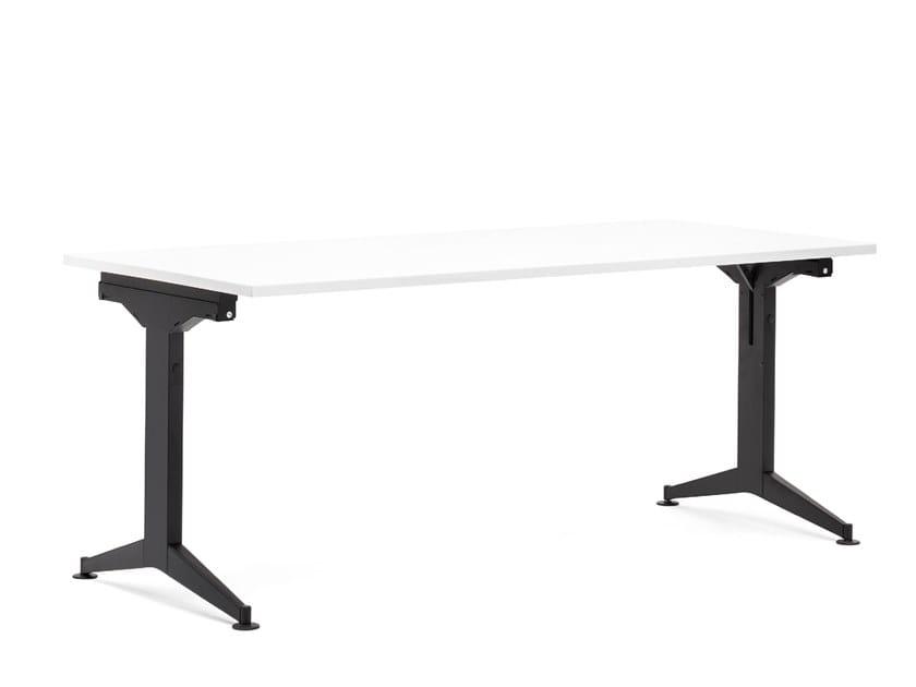 Folding rectangular table TIMMY FOLDING by Mara