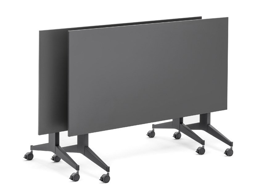 Rectangular office desk with flip-top TIMMY TILTING by Mara
