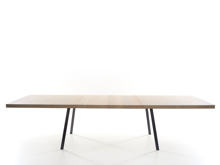 Extending solid wood table TIN | Extending table by more