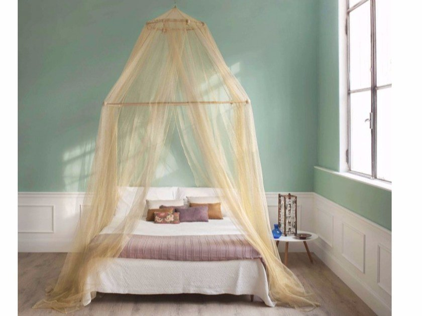 Canopy mosquito net TINA LIMITED EDITION GOLD LUREX by Grigolite