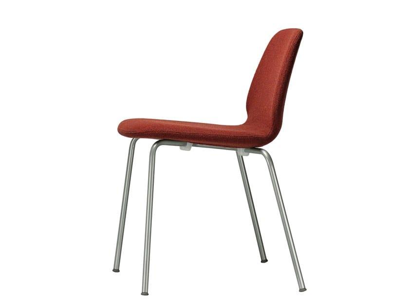 Stackable fabric chair TINDARI CHAIR - 516 by Alias