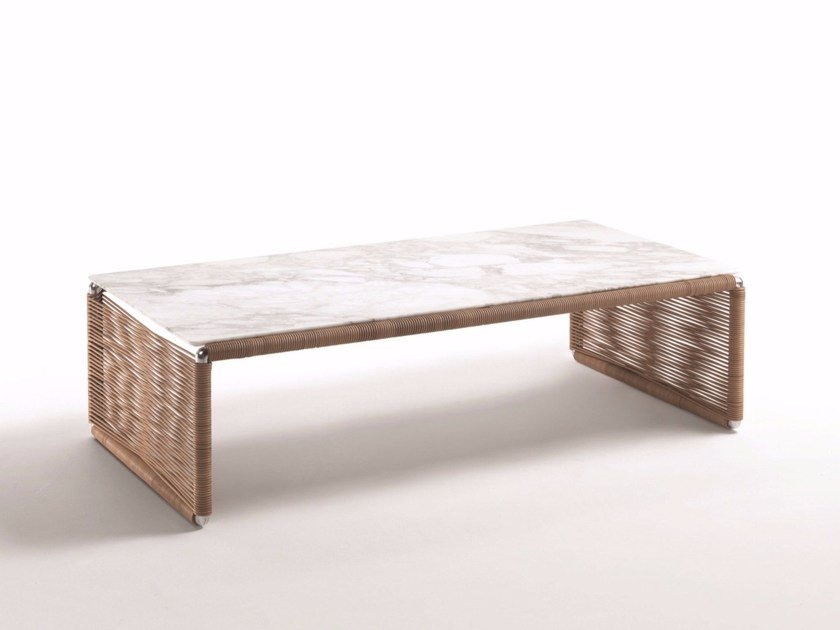 Rectangular coffee table TINDARI | Coffee table by FLEXFORM