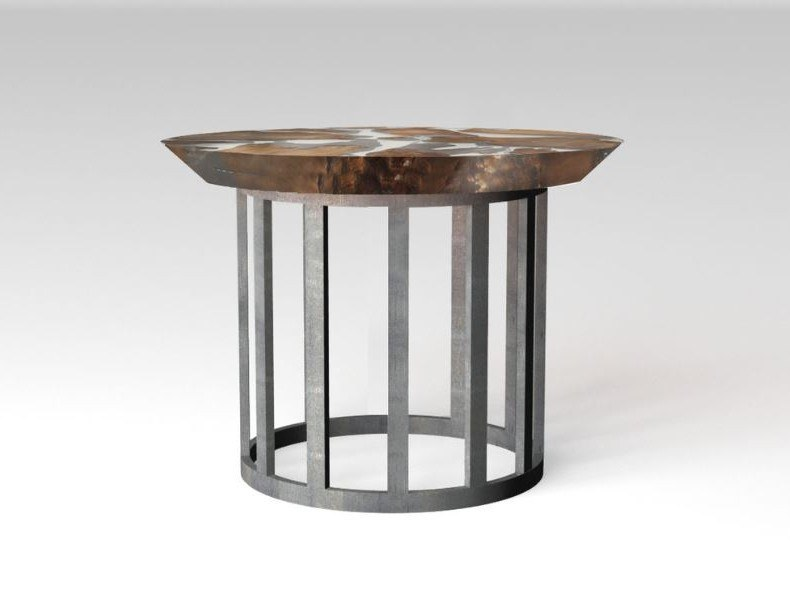 Tavolino rotondo TINY EARTH by Riva 1920