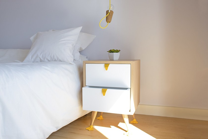 Bedside table with drawers TIO | Bedside table with drawers by Galula