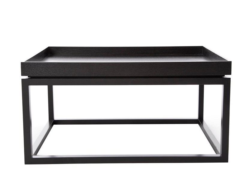 Rectangular coffee table with tray TIP by NORR11