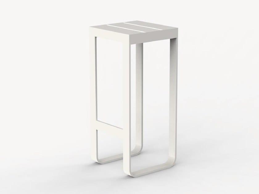 Sled base aluminium garden stool TIRANO by Ciela Mare