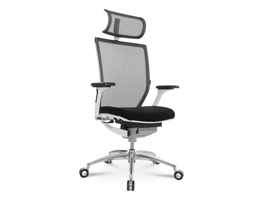Swivel executive chair with 5-spoke base TITAN 10 | Executive chair by WAGNER