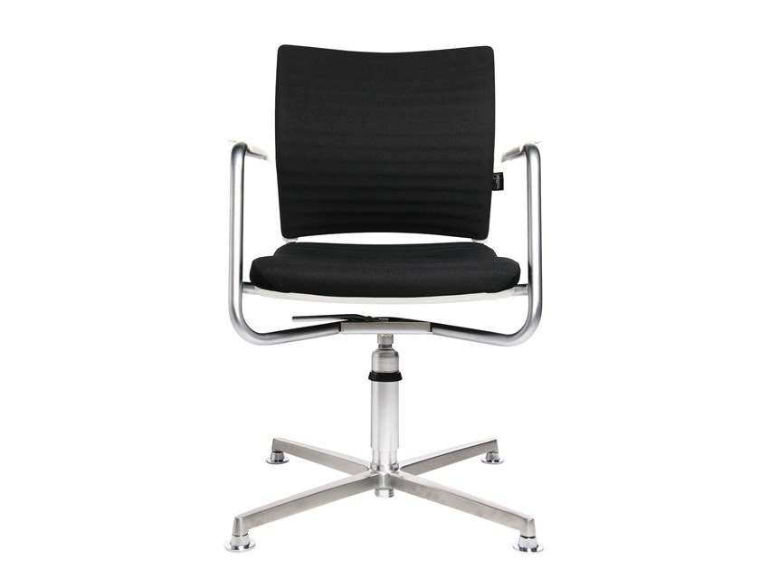 Swivel chair with 4-spoke base TITAN 20 3D VISIT | Swivel chair by WAGNER