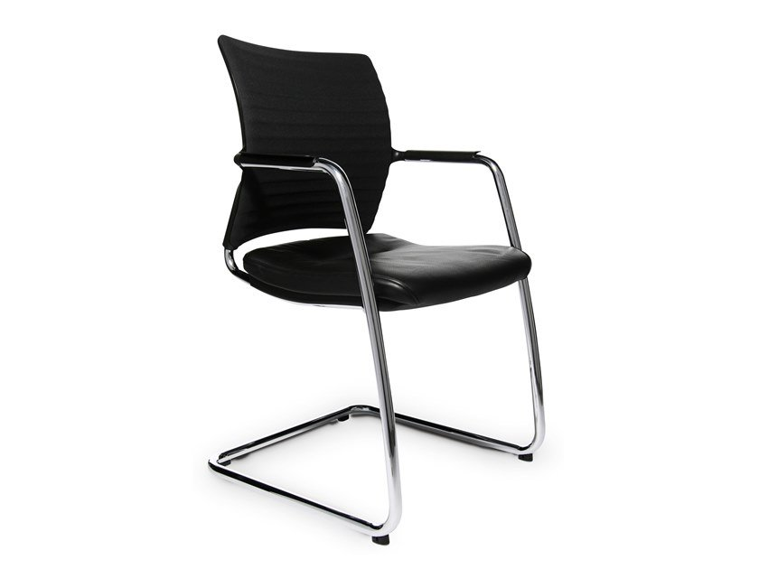 Cantilever reception chair TITAN 20 VISIST   Cantilever chair by WAGNER
