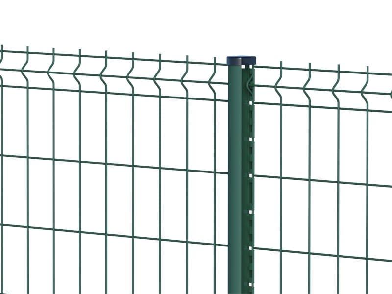 Palo sagomato per recinzioni metalliche TITAN by Ferro Bulloni