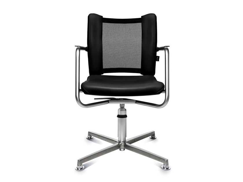 Swivel chair with 4-spoke base TITAN LIMITED 3D VISIT   Swivel chair by WAGNER