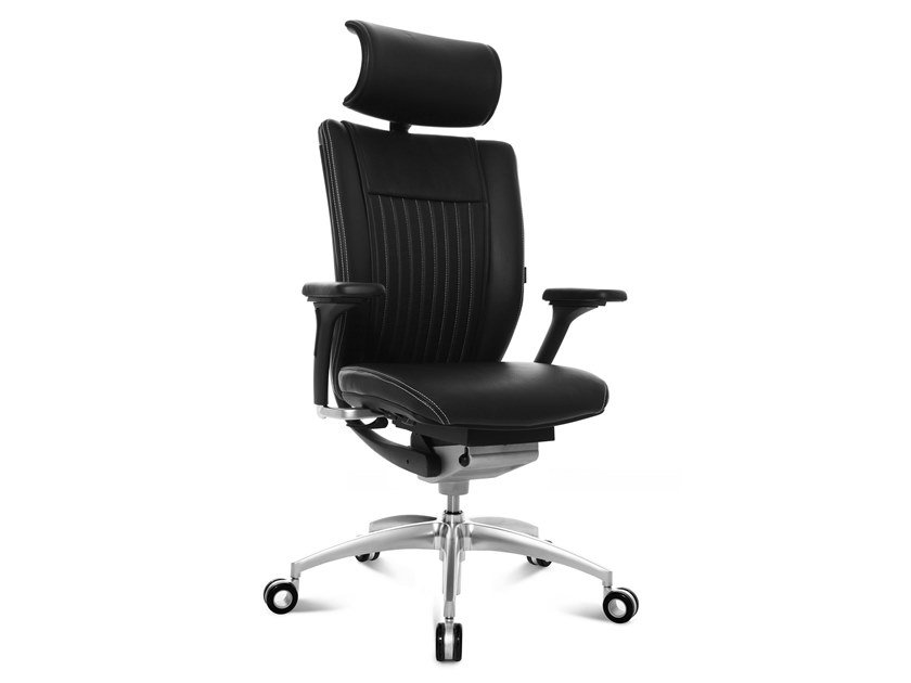 Swivel executive chair with 5-spoke base TITAN LIMITED S COMFORT | Executive chair by WAGNER