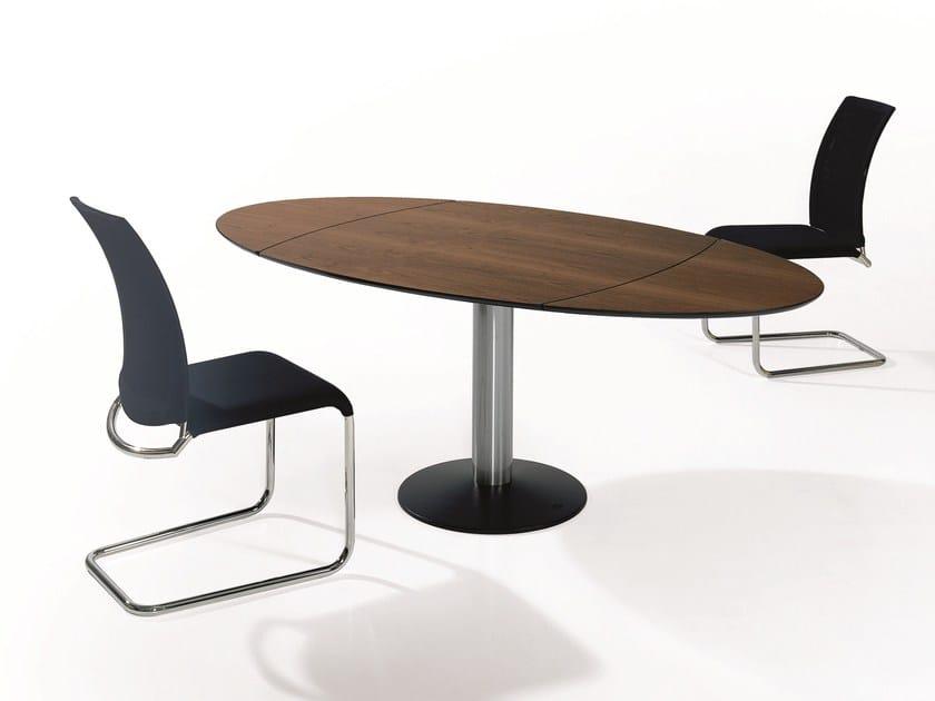 Ovaler Esstisch Holz ~ Titan tisch aus holz by draenert design georg appeltshauser