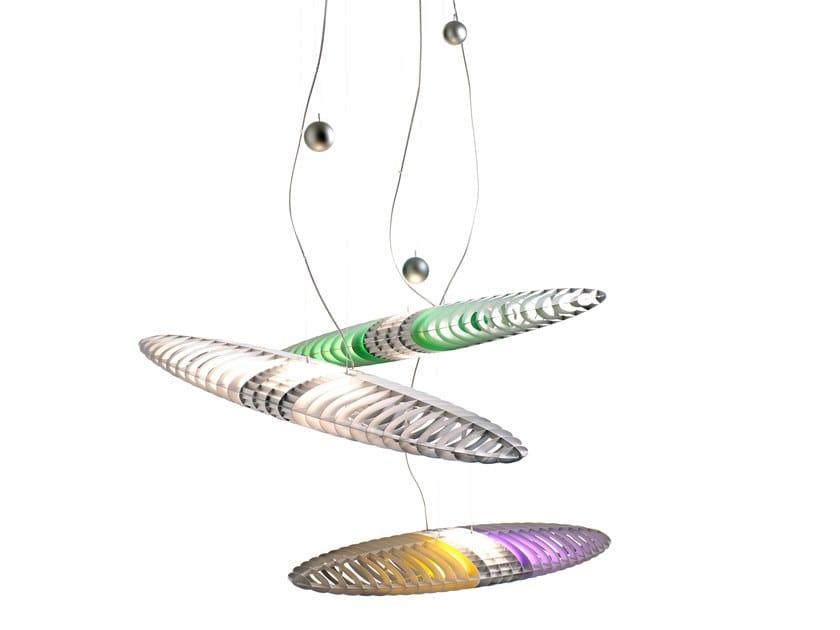 Luminária pendente LED de alumínio TITANIA | Luminária pendente by LUCEPLAN