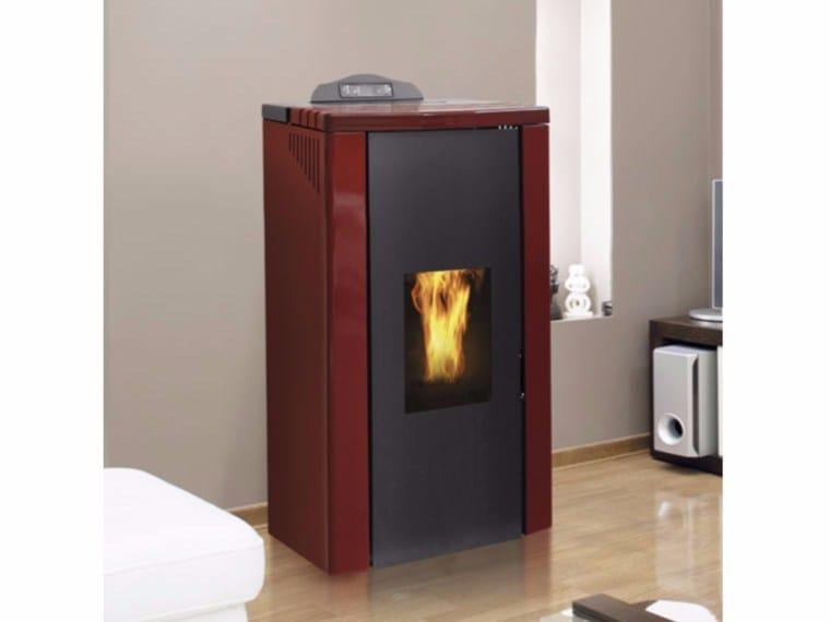 Pellet Heating stove TITANO IDRO PELLET by Fintek