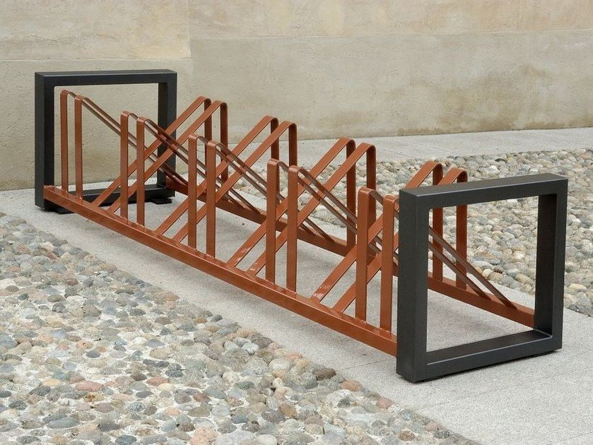 Steel Bicycle rack TITTA - BIKE by A.U.ESSE