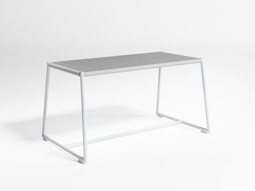 Coffee table / garden bench TITUNA   Garden bench by GANDIA BLASCO