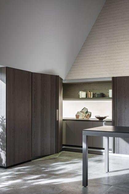 Cucina a scomparsa lineare TIVALÌ By DADA design Dante Bonuccelli