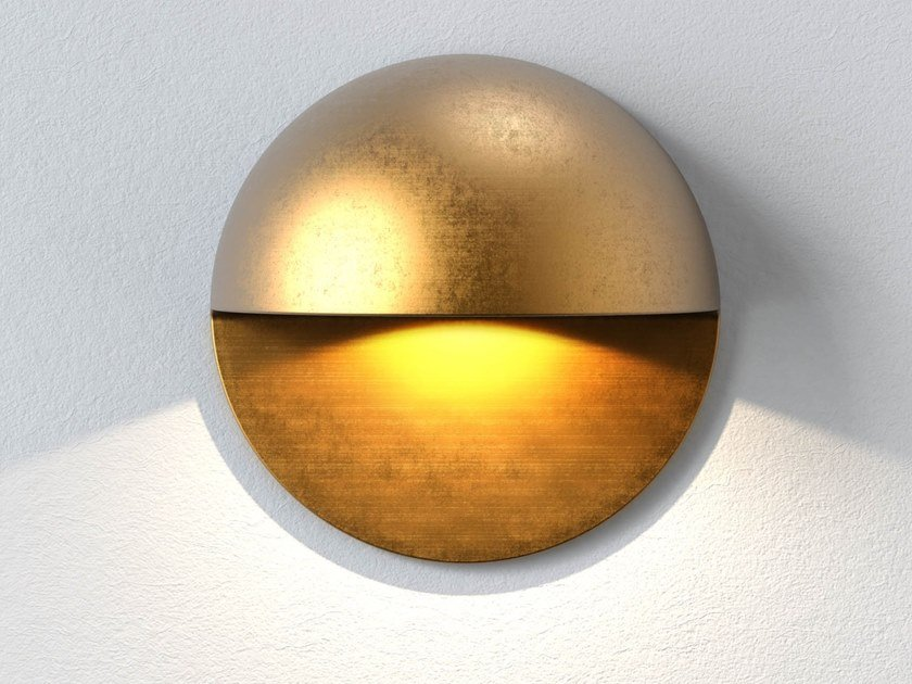 Segnapasso a LED in ottone con dimmer TIVOLA | Segnapasso a LED by Astro Lighting