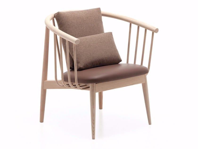 Ash armchair TIVOLI LOUNGE by Cizeta L'Abbate