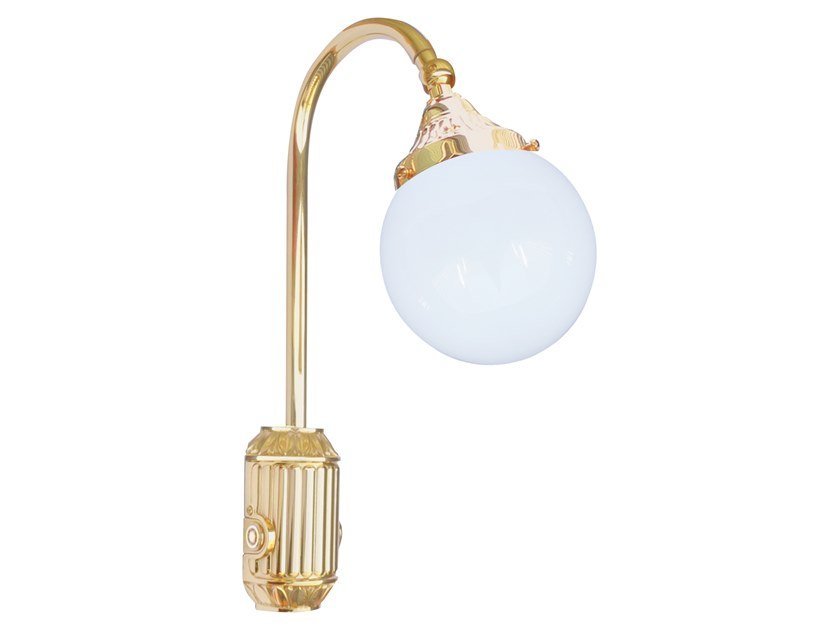Brass wall lamp TIVOLI | Wall lamp by FEDE
