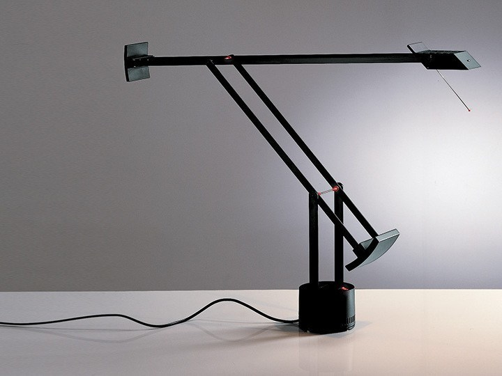 Direct light halogen desk lamp TIZIO PLUS by Artemide