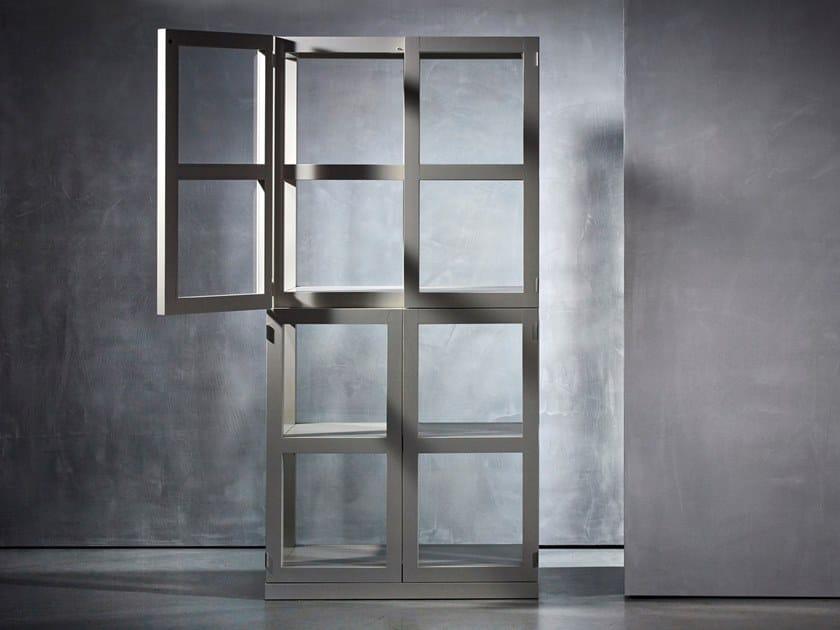 Wooden display cabinet TJERK by Piet Boon