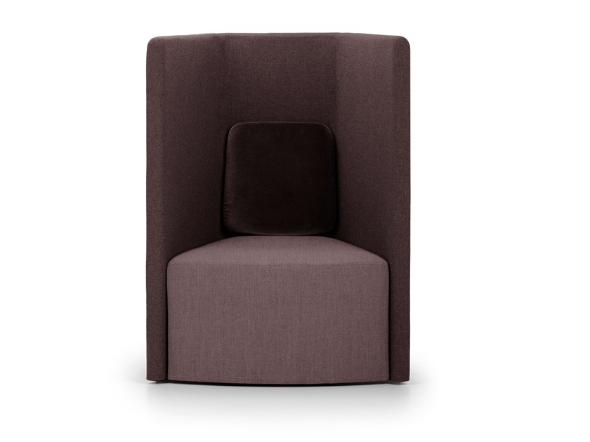 High-back armchair TO-TO | High-back armchair by True Design