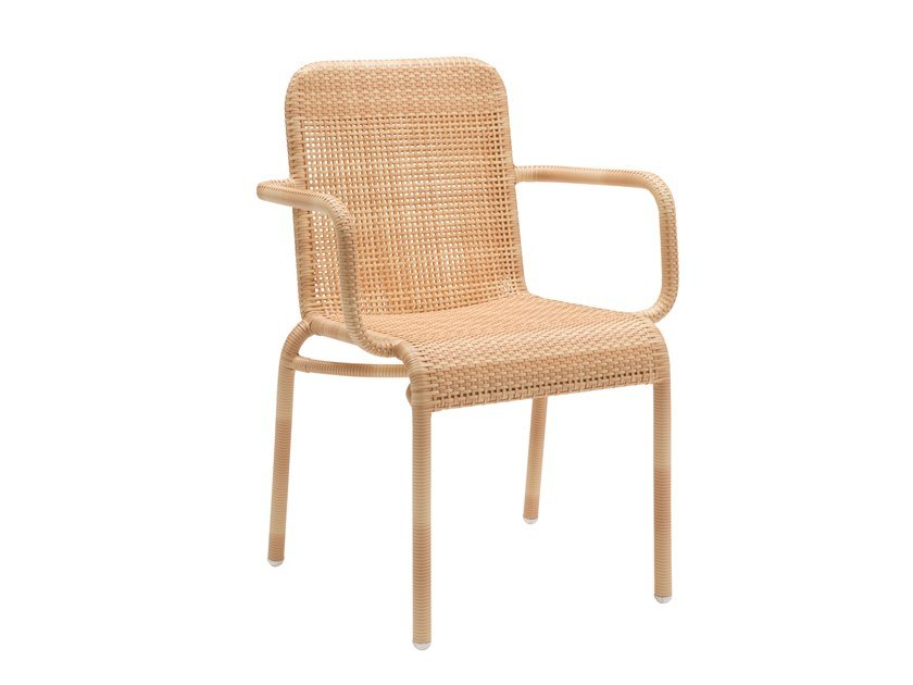 Garden chair with armrests TOBAGO | Chair with armrests by Kok Maison