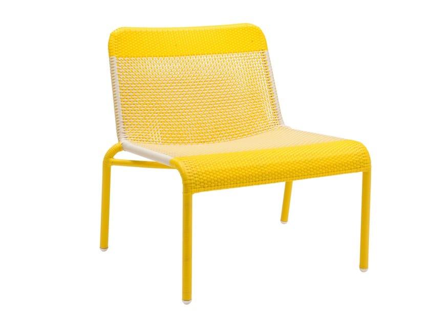 Garden easy chair TOBAGO - JAUNE | Easy chair by Kok Maison