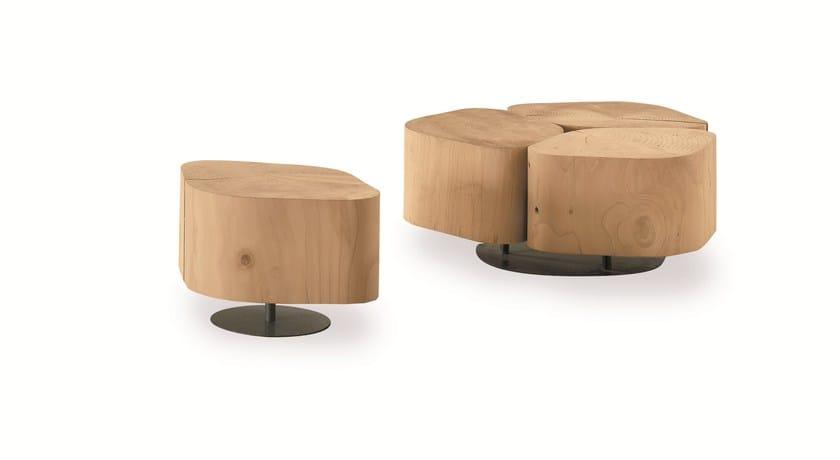 Tavolino basso in legno TOBI 1 - Riva 1920