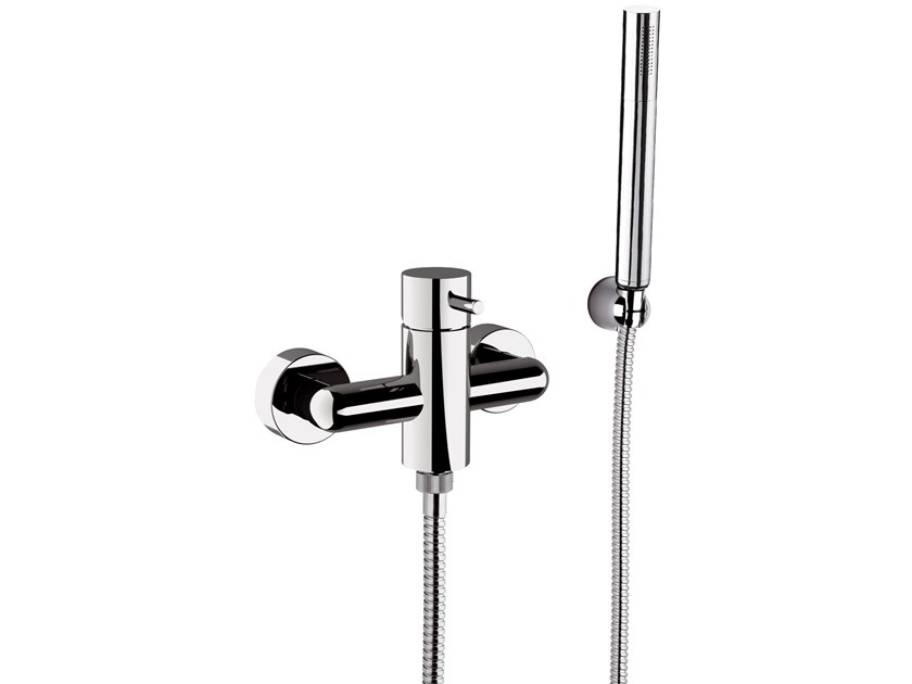 2 hole shower mixer with hand shower TOKYO | 2 hole shower mixer by Daniel Rubinetterie