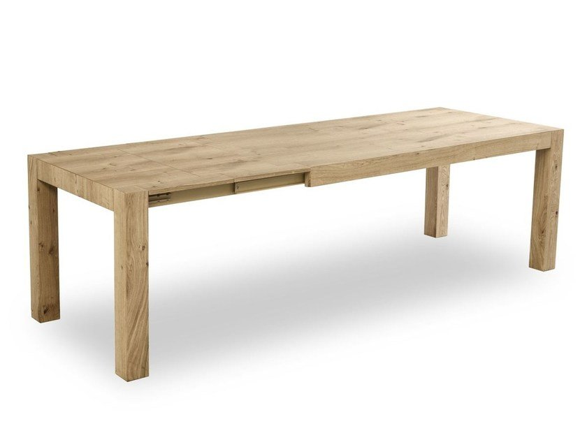 Extending rectangular table TOLA by Pointhouse