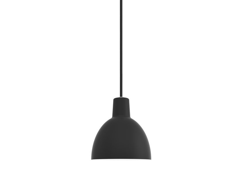 Direct light aluminium pendant lamp TOLDBOD | Pendant lamp by Louis Poulsen
