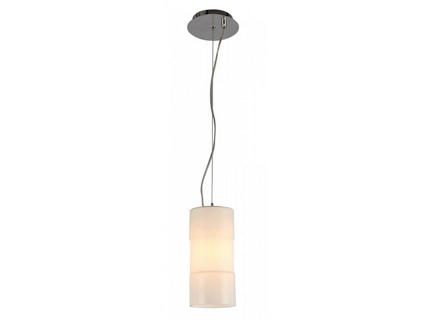 Swivel glass pendant lamp TOLEDO by MAYTONI