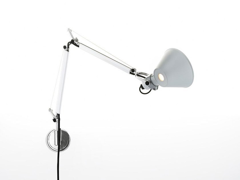 Direct light adjustable wall lamp TOLOMEO MICRO WALL | Wall lamp by Artemide