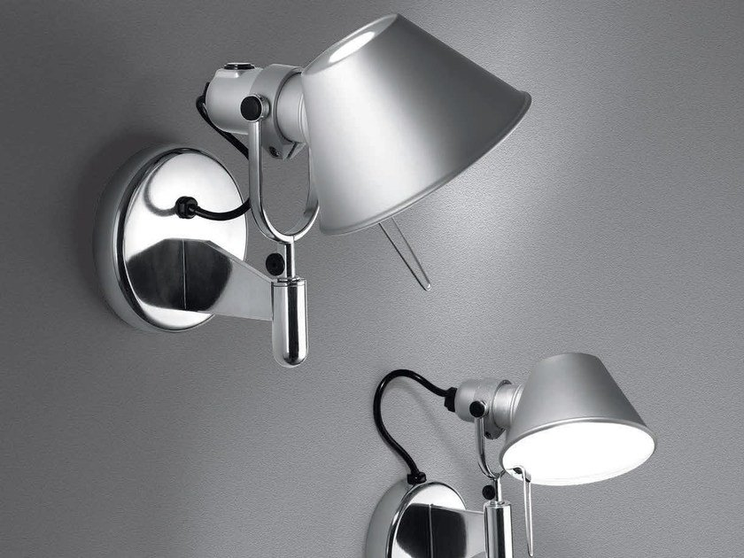 Wall-mounted adjustable spotlight TOLOMEO | Spotlight by Artemide