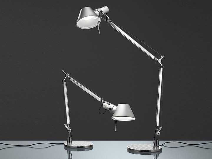 Tolomeo Mini Lampe De Table By Artemide Design Michele De Lucchi