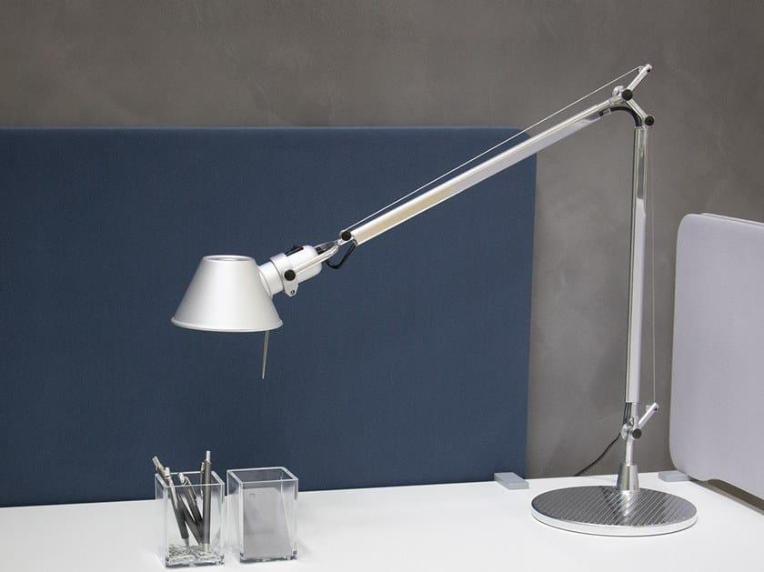 Direct light aluminium table lamp TOLOMEO   Table lamp by Artemide