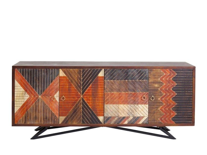 Mango sideboard TOMAHAWK | Sideboard by KARE-DESIGN
