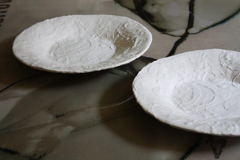 Ceramic plate TOMBOLO by N.O.W.  Edizioni