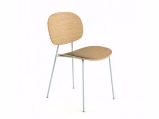 Multi-layer wood chair TONDINA | Multi-layer wood chair by Infiniti