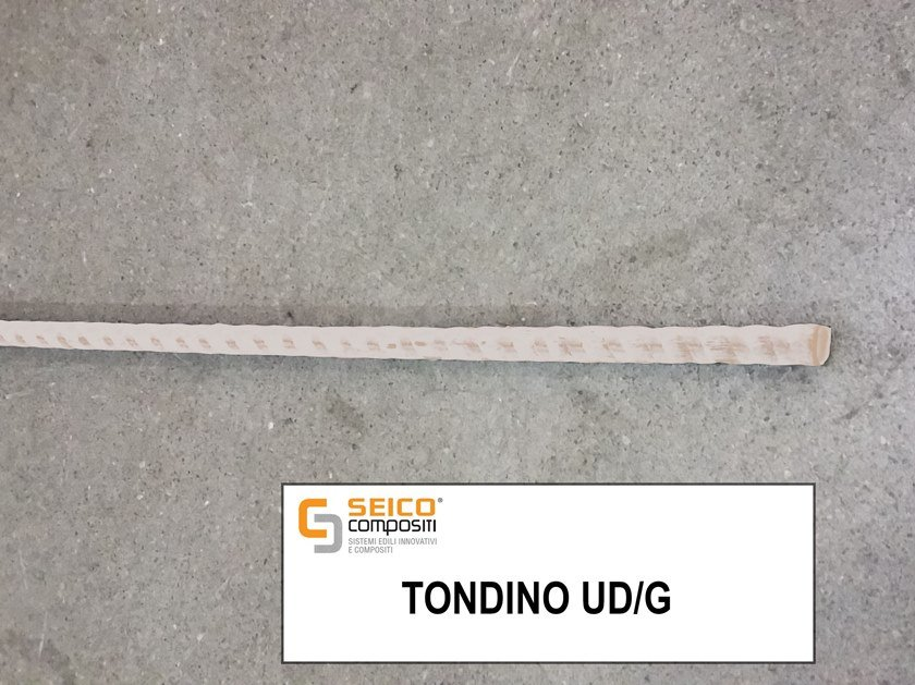 Steel bar, rod, stirrup for reinforced concrete TONDINO UD/G® by Seico Compositi