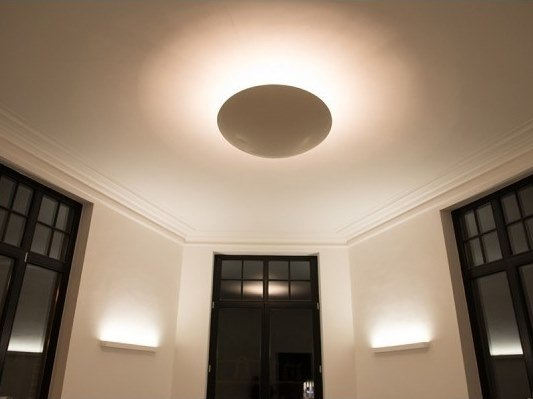 Gypsum ceiling light TONDO by GESSO