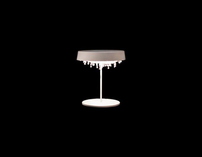 Lampada da tavolo alogena in cristallo TONDO T | Lampada da tavolo by Manooi
