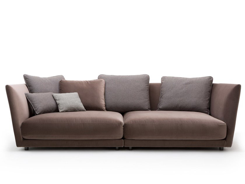 Velvet Sofa Tondo By Rolf Benz