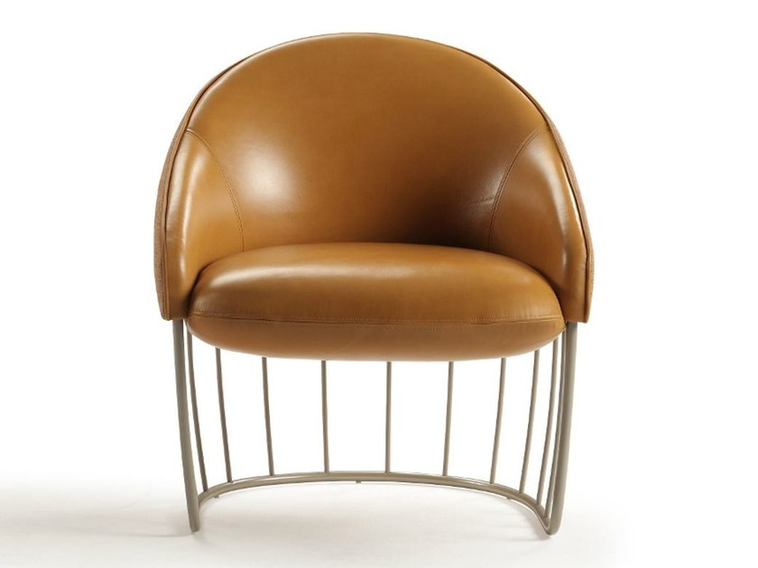Leather armchair TONELLA | Leather armchair by Sancal