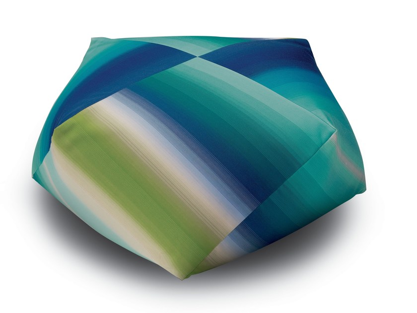 Pouf with removable lining TONGA | Pouf by MissoniHome