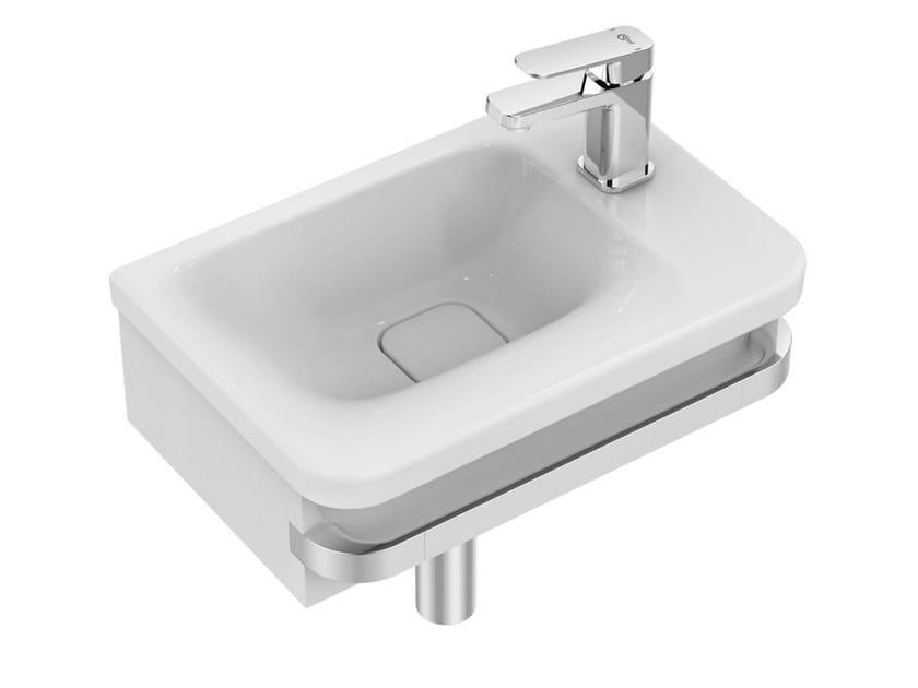 Lave-mains rectangulaire en céramique TONIC II - K0867 by Ideal Standard